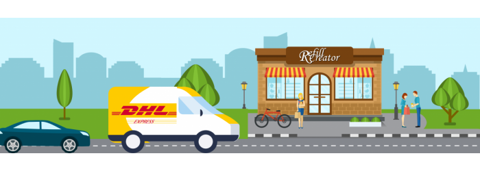 Levering DHL Express
