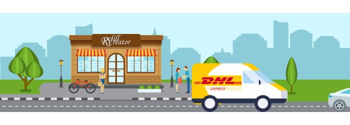 Ophaling DHL Express